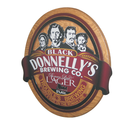 Black Donnellys Sign