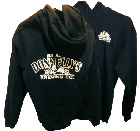 Black Donnelly's Hoodie